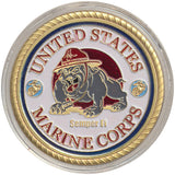 Card Guard United States Marine Corps Card Guard Gold - Spinettis Gaming - 2