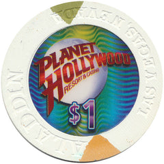 Planet Hollywood Resort & Casino, Las Vegas NV $1 Casino Chip - Spinettis Gaming - 1