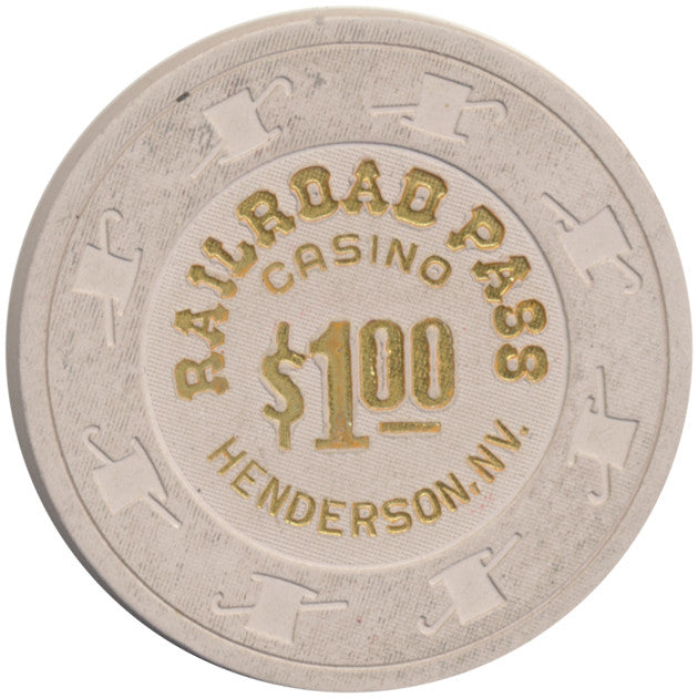 Railroad Pass Casino Henderson NV $1 Chip 1994