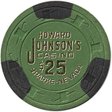 Howard Johnson's Casino $25 chip - Spinettis Gaming - 1