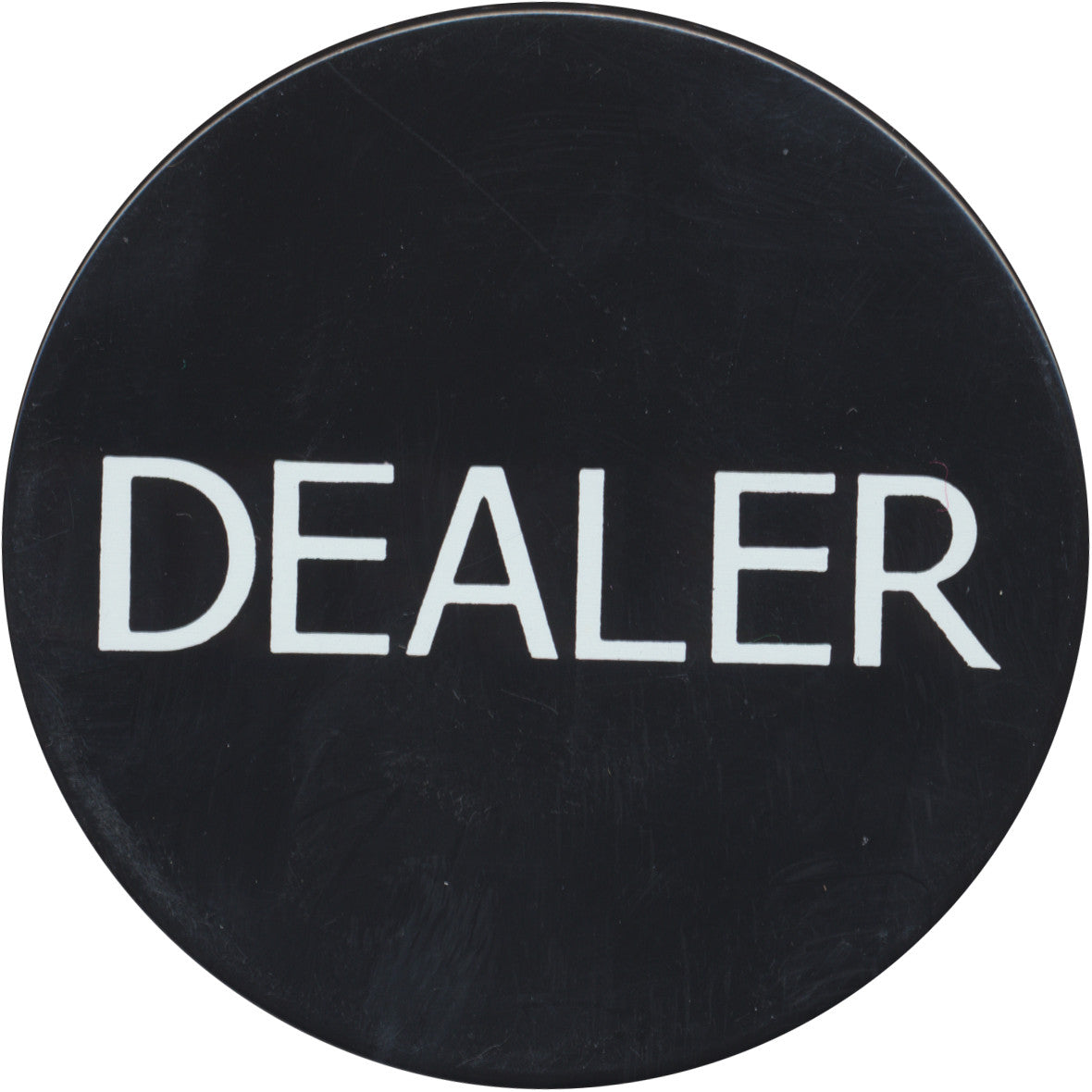 Dealer 2'' Black Button - Spinettis Gaming - 1