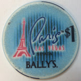 Bally's Paris Casino Las Vegas $1 Chip Chipco - Spinettis Gaming - 2