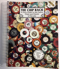11th Edition The Chip Rack Price Guide to the Casino Chips Book - Spinettis Gaming