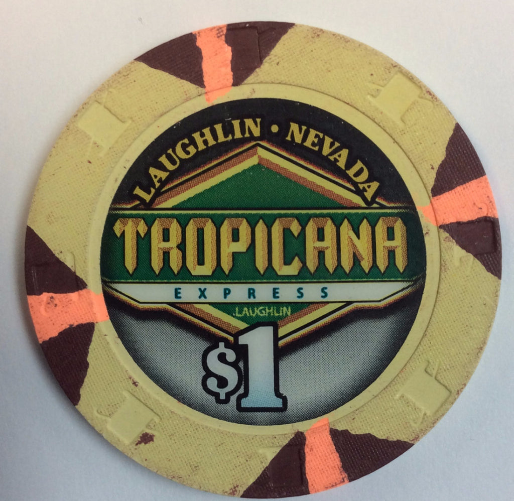 Tropicana Express Casino Laughlin $1 Chip