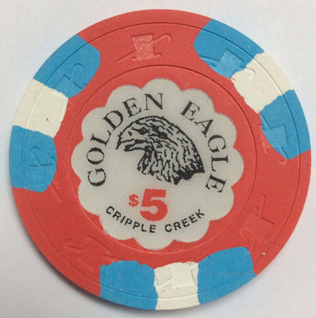 Golden Eagle Casino Cripple Creek $5 Chip