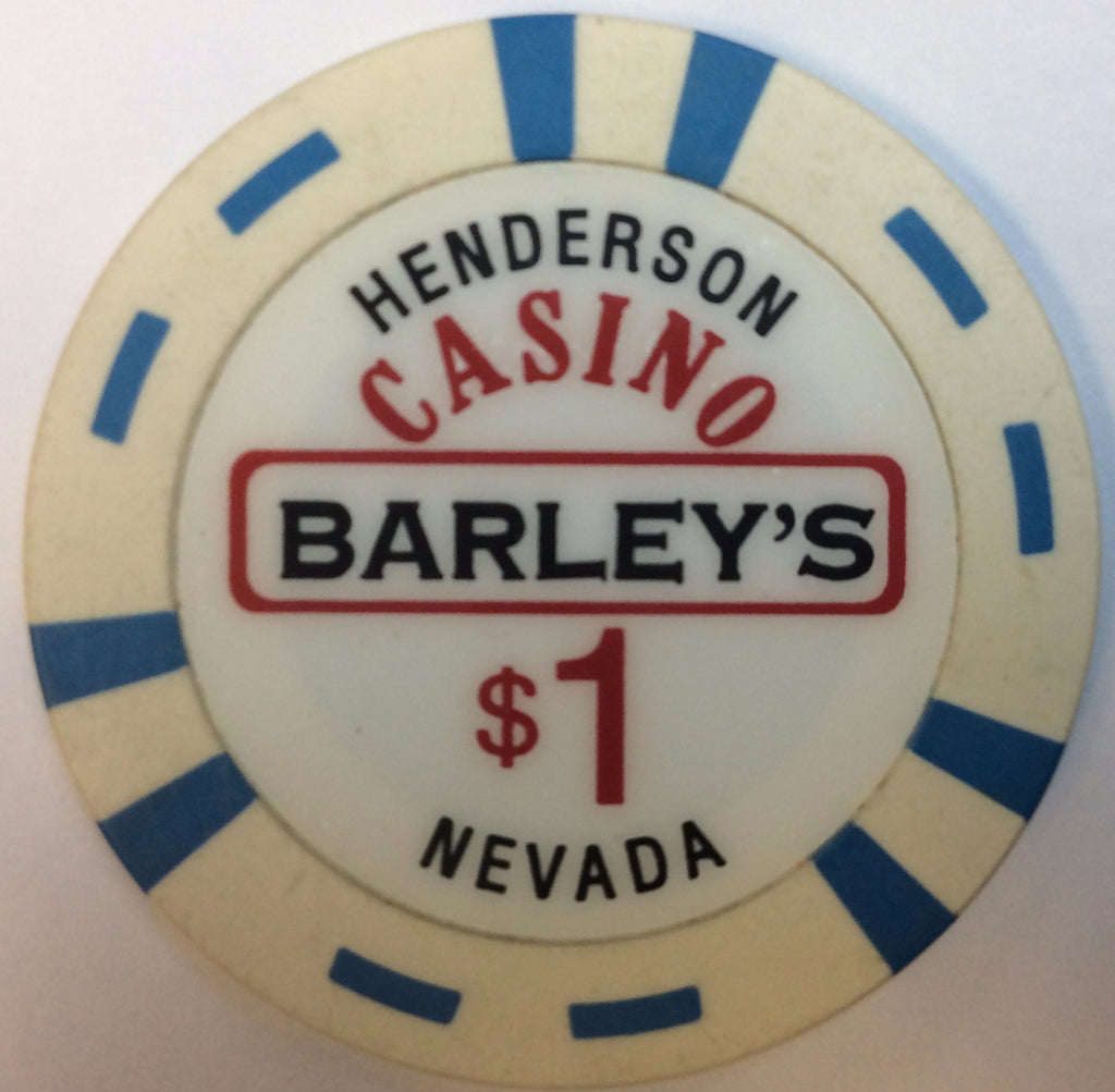 Barleys Casino Henderson $1 Chip 2002