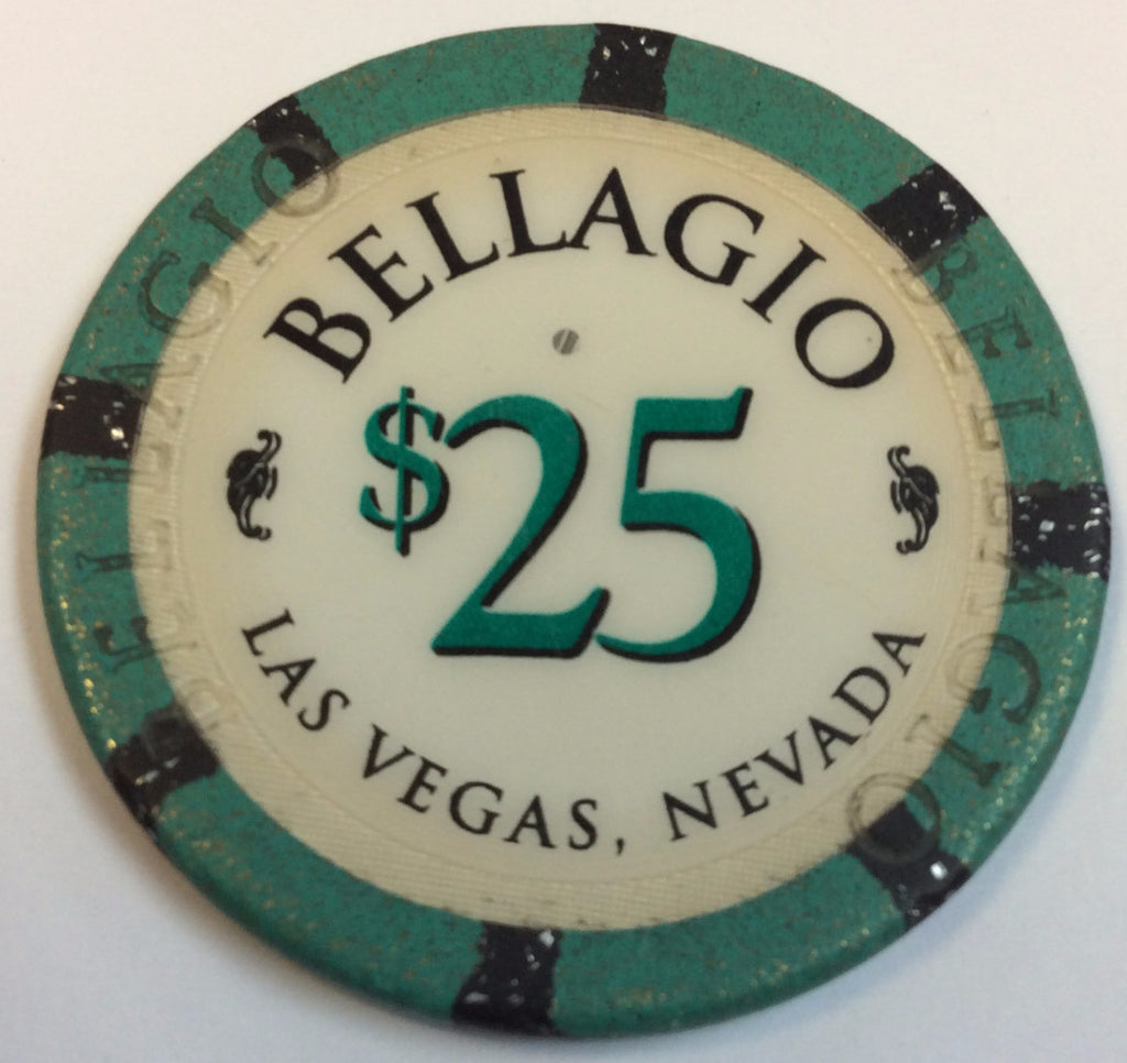 Bellagio Casino Las Vegas $25 Chip 1998
