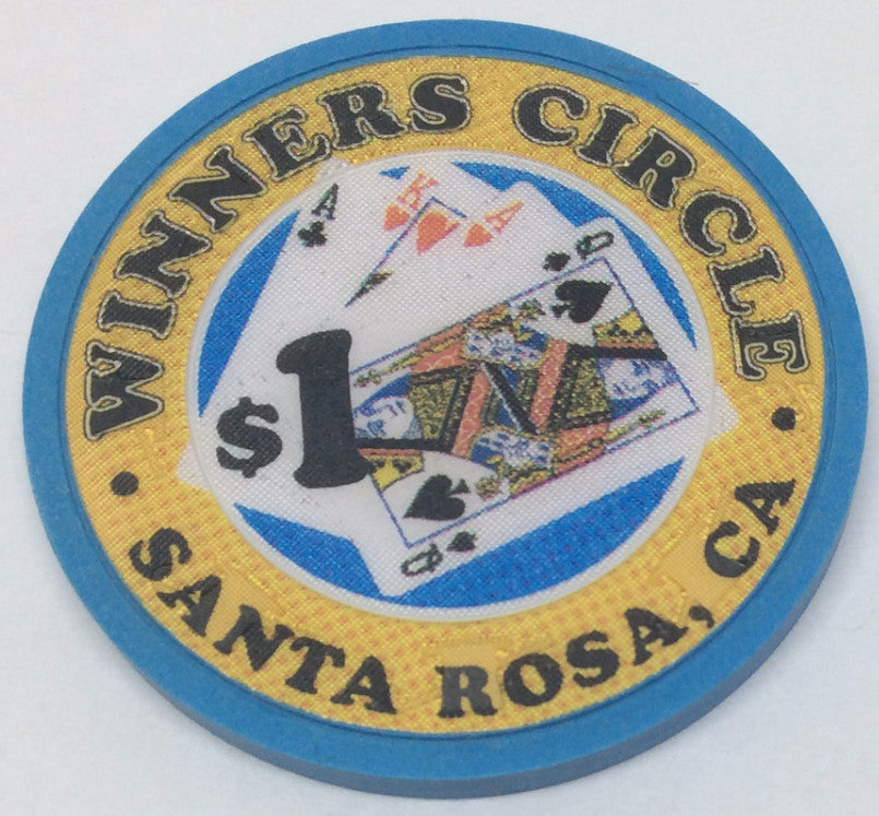 Winners Circle Santa Rosa $1 Chip