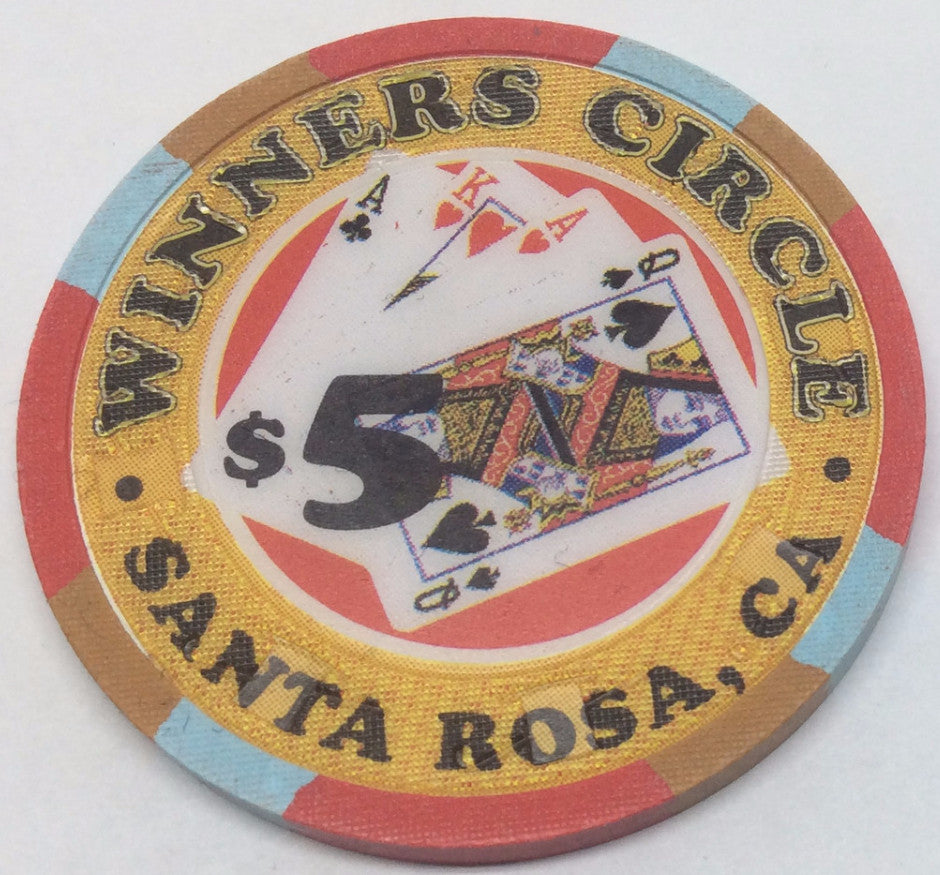 Winners Circle Santa Rosa $5 Chip
