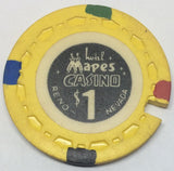 Mapes Casino Reno $1 Chip Cancelled - Spinettis Gaming