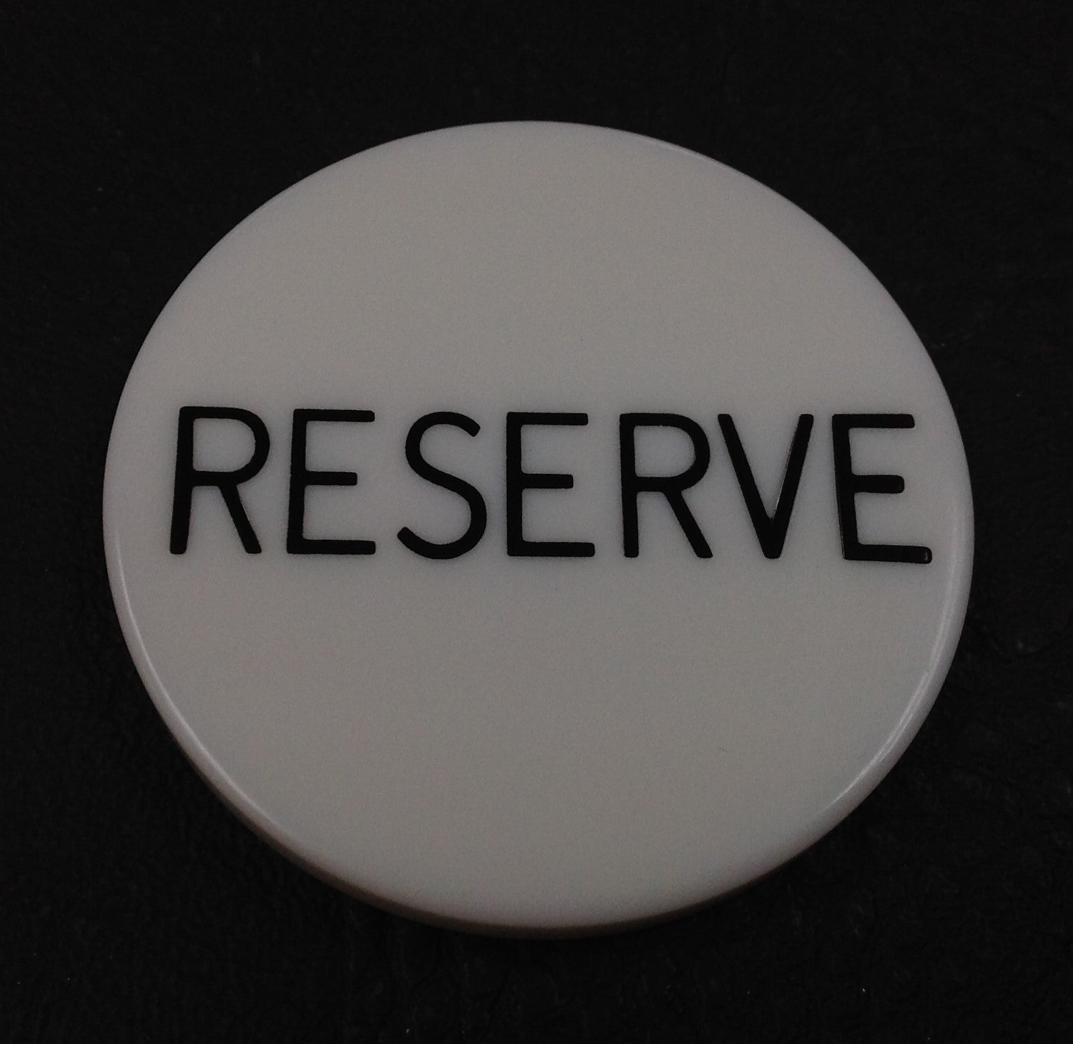 Reserve 2'' Button - Spinettis Gaming