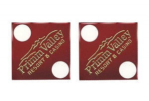Primm Valley Used Casino Dice, Pair - Spinettis Gaming - 1