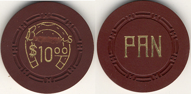 HorseShoe Club $10 (brown) chip