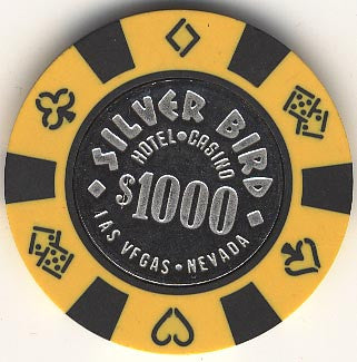 Silver Bird Casino Las Vegas $1000 chip 1990s