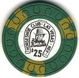 HorseShoe Club $25 (green) chip
