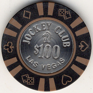 Jockey Club Casino Las Vegas NV $100 Chip 1983