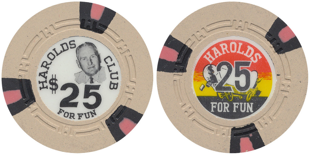 Harolds Club $25 Chip