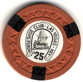 HorseShoe Club $25 (orange) chip
