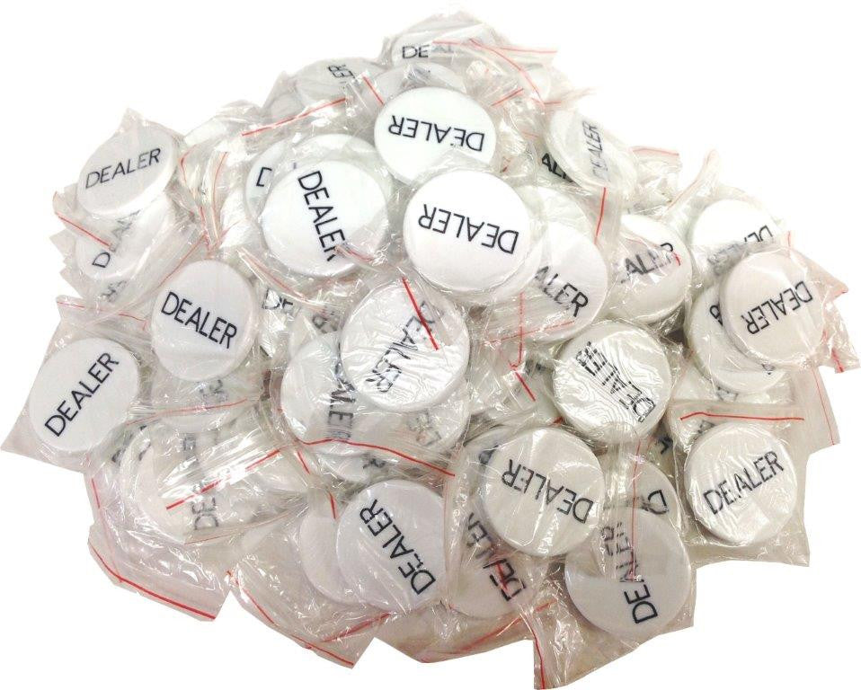 288 Closeout Dealer Buttons (some have minor imperfections)
