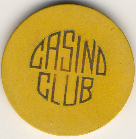 Casino Club (yellow) Chip - Spinettis Gaming - 1