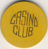 Casino Club (yellow) Chip - Spinettis Gaming - 2