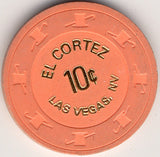 El Cortez 10 (orange 1970s) Chip - Spinettis Gaming - 1