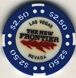 The New Frontier $2.50 Chip - Spinettis Gaming - 1