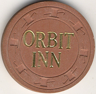 Orbit Inn Casino Las Vegas NV 10 Cent Chip 1976 (Large Lettering)