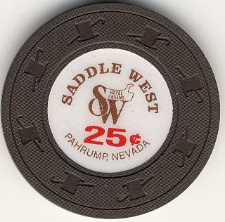 Saddle West 25 (brown) chip