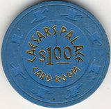 Caesars Palace $1 ( blue 1970s) Chip - Spinettis Gaming - 2