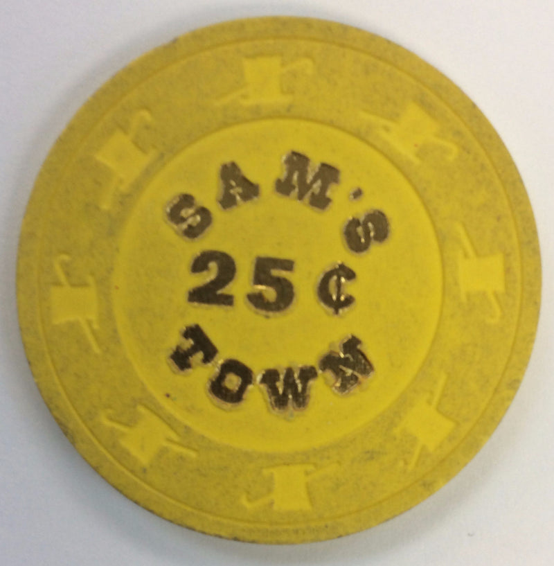Sam's Town Casino Las Vegas 25cent chip 1979 - Spinettis Gaming