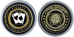 Card Guard  Bullets (Pair Of Aces) Card Guard - Spinettis Gaming - 1