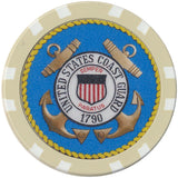 US Coast Guard Chip - Spinettis Gaming - 3