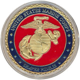 Card Guard United States Marine Corps Card Guard Gold - Spinettis Gaming - 3