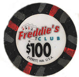 300 Freddies Club Casino Paulson Chips Set - Spinettis Gaming - 6