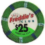 Freddie's Club Casino $25 Chip - Spinettis Gaming