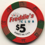 300 Freddies Club Casino Paulson Chips Set - Spinettis Gaming - 4