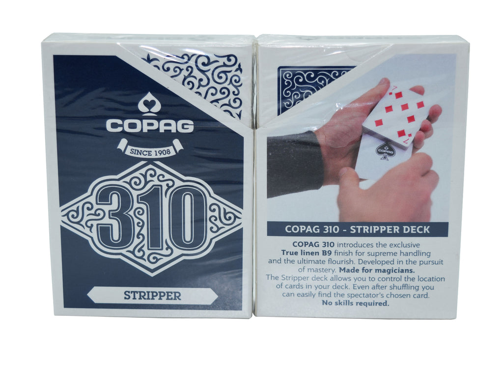 Copag Magic 310 Series Playing Cards Stripper Blue Deck