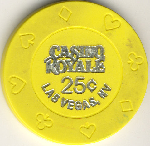 Casino Royale 25cent Chip