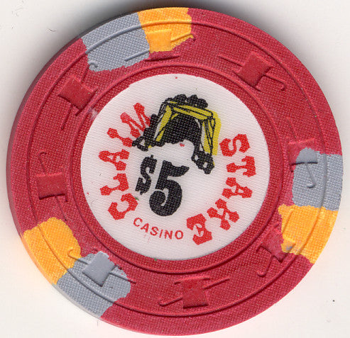 Claim Stake $5 (red 1979) Chip