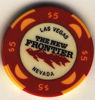The New Frontier Casino Las Vegas $5 Chip - Spinettis Gaming