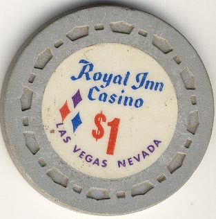 Royal Inn Casino $1 (gray) chip