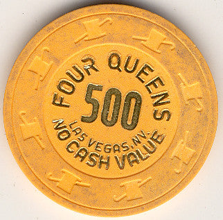 Four Queens 500 (no cash) chip - Spinettis Gaming - 1