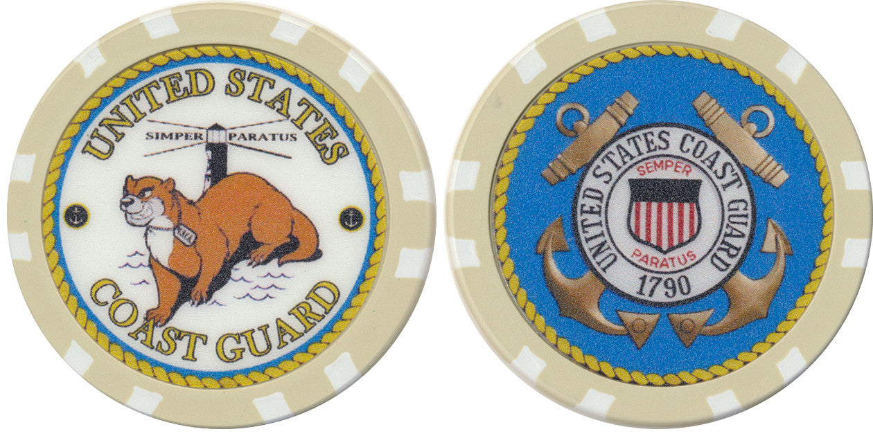US Coast Guard Chip - Spinettis Gaming - 1