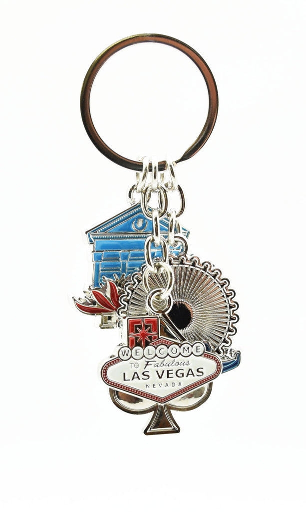 Key chain - Las Vegas Sign Theme Dangler Style