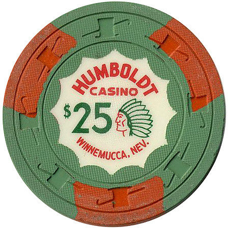 Humboldt Casino $25 (green) chip - Spinettis Gaming - 2