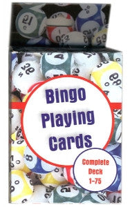 Bingo Playing Cards