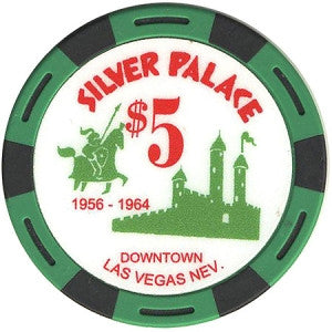 Silver Palace Casino Las Vegas $5 Fantasy Chip - Spinettis Gaming