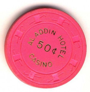 Aladdin Casino 50cent (1980s) Chip - Spinettis Gaming
