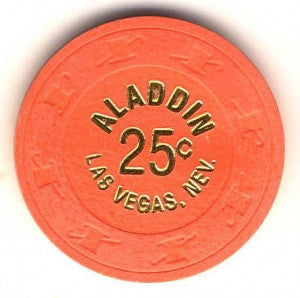 Aladdin Casino 25 (1970s) Chip - Spinettis Gaming - 1